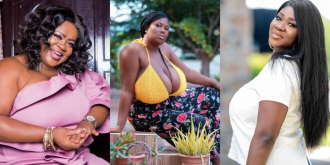 """Mercy Asiedu and Mercy Johnson gave me confidence when i was body shamed.""- Paticia Amoah 1"