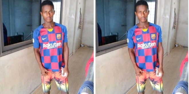 15 years old footballer D!es in walewale after a head collision with an opponent in a football match 1