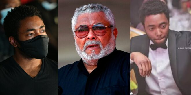 The Late Jerry John Rawlings described his son Kimathi as stupid check out why. 1