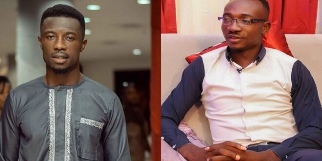 """Salinko have been lying about me because he wants to trend""- Angry Kwaku manu discloses 1"