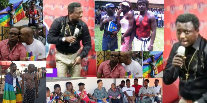 Opambour Blasts Catholic Priest for Supporting Homosexuality in Ghana - Video 1