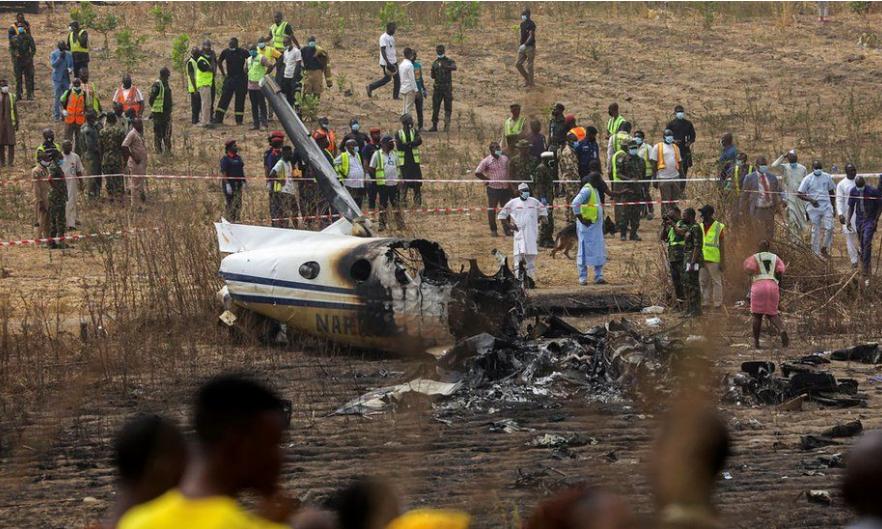 Nigerian Air Force Abuja Plane Crash, 7 confirmed dead - Video 2