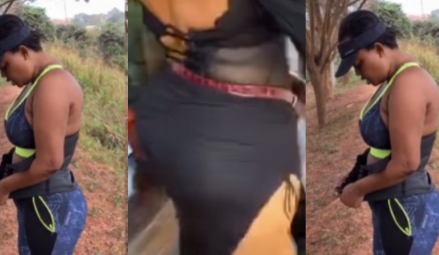 McBrown is deceiving us with exercise while she has gone for surgery - Netizens Exposes (Video) 2