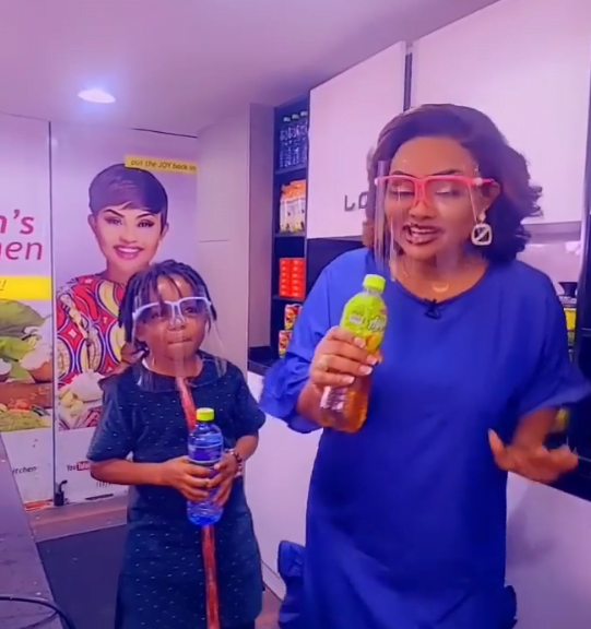 Don Little And Nana Ama McBrown thrills fans in a new video
