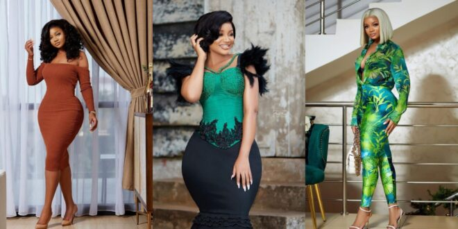 Beautiful sister of Serwaa Amihere causes stir online with these amazing photos. 1