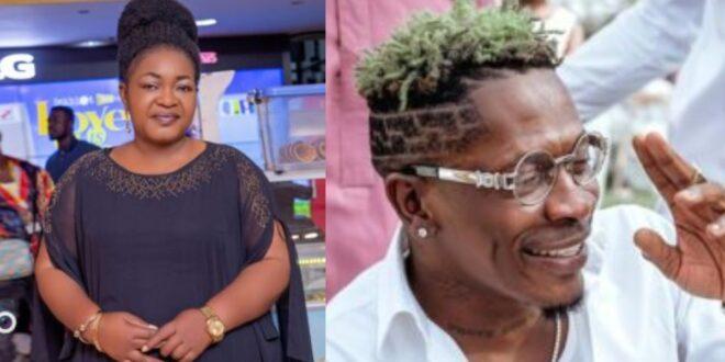 Shatta Wale needs to learn how to talk decently - Christiana Awuni (Video) 1