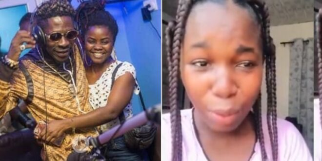 Ama Shatta in tears because of what shatta wale did to her (video) 1