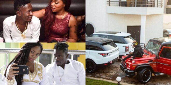"""""""At least i gave you a house and a Car""""- Shatta wale blast Michy for saying she wasted her life with him 1"""