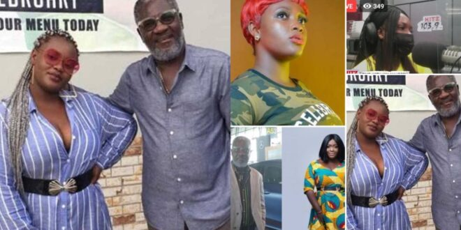 """""""He gave me just Ghc100 for second hand clothes""""-Kim Maureen exposes Starboy kwarteng after he said she was lazy. 1"""