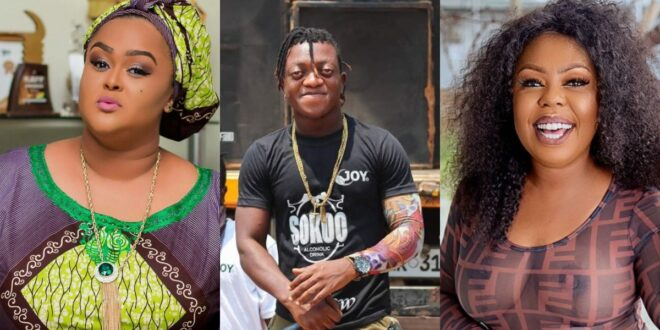 Sumsum threatens to go physical with Afia Schwarzenegger if she does not stop insulting vivian jill. 1