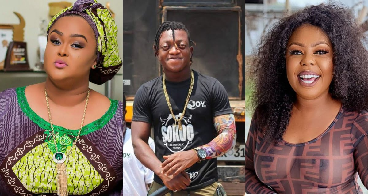 Sumsum threatens to go physical with Afia Schwarzenegger if she does not stop insulting vivian jill. 2
