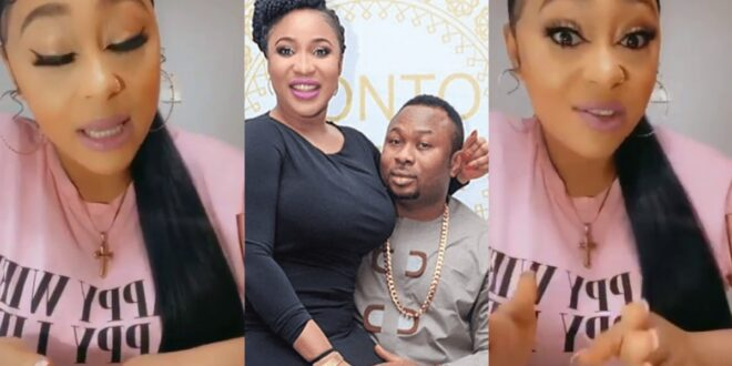 Tonto Dikeh's best friend who spoilt her marriage and married her ex husband speaks on the issue (video) 1