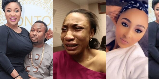 Tonto Dikeh reacts to her ex husband marrying her best friend who caused their Divorce. 1
