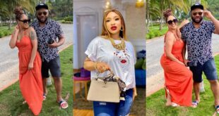 Churchill teases Tonto Dikeh as he shares lovely moments with his new lover, Rosy - Photos 15