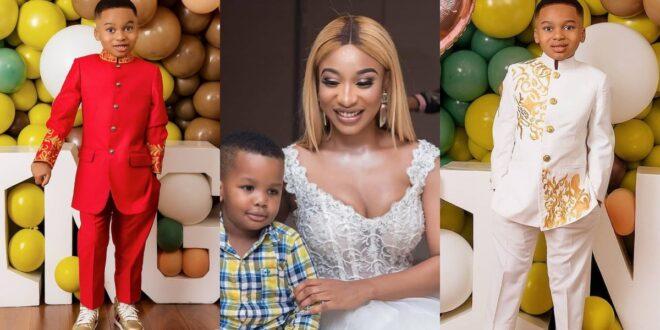 Tonto Dikeh's son breaks the internet with stunning birthday photos 1
