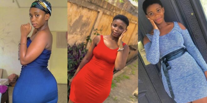 Meet Tracy Mensah, pretty Teenage girl who is famous for her curves on Tiktok (photos) 1