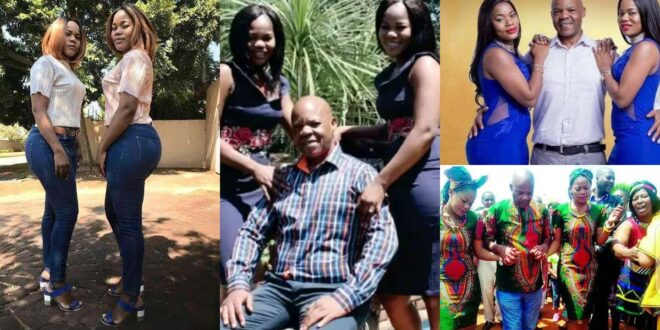 See recent pictures of the twins that married the same man, what they did 9 years later will shock you. 1