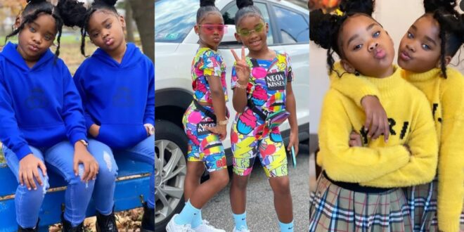 (Photos) 6 years after the crowning of the most beautiful twins, see how matured they are now. 1