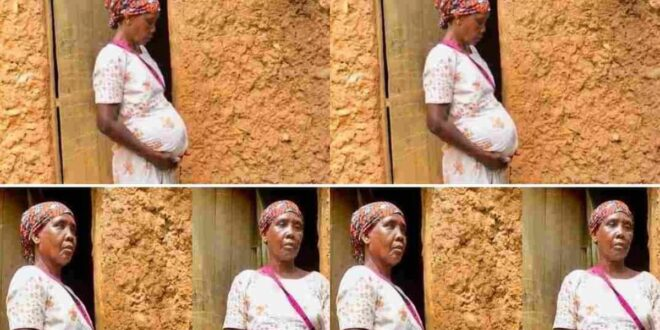 Meet a 70 year old woman who was pregnant since 1977 and stillhasn't given birth. 1