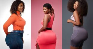 Ghanaian model Sheena Gakpe overtakes Hajia Bintu in the battle of big a$$ on social media (photos) 4