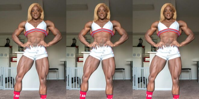 """""""I can't get clothes to buy and wear because of my body""""- Female Body builder reveals 1"""