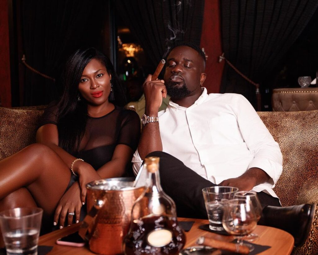 Sarkodie's wife, Tracy trends as his fans celebrates her on her birthday - Photos