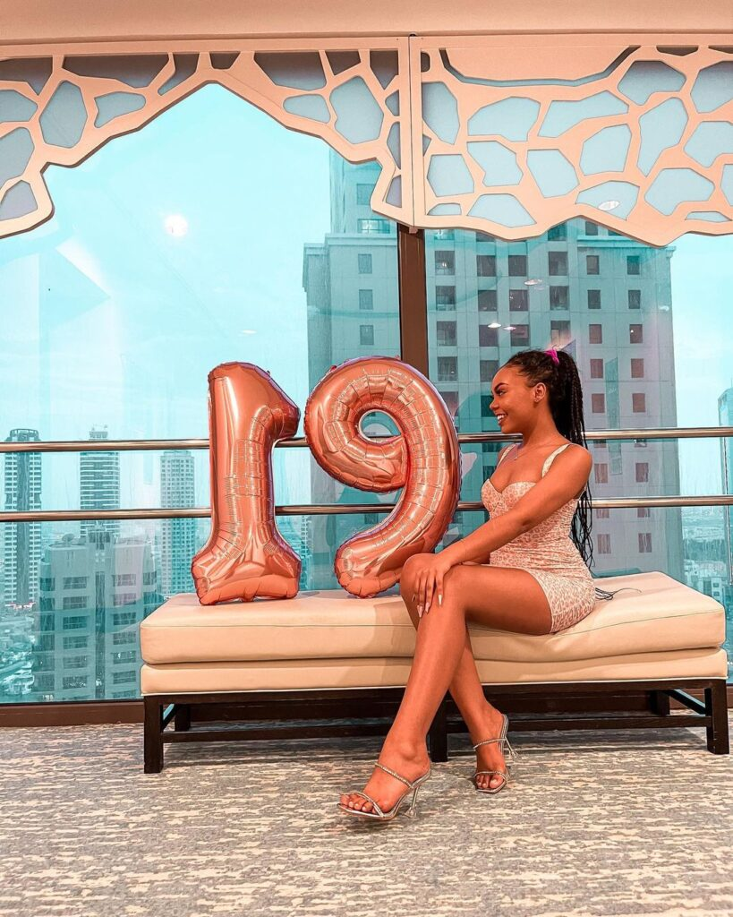 Pictures of Rahim Banda's girlfriend drop as she celebrates her 19th birthday 8