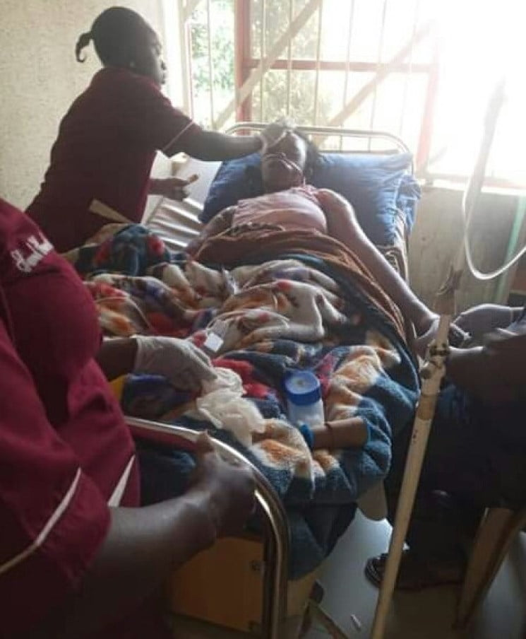 Nigerian Woman and Her Four Kids Dies In A Fire Outbreak - Photos