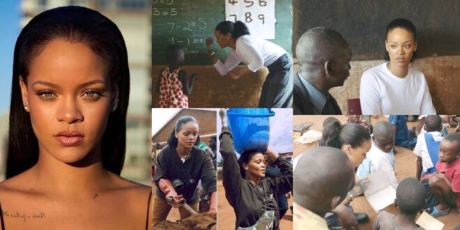 8 Pictures of Rihanna when she visited Africa for the first time (photos) 1