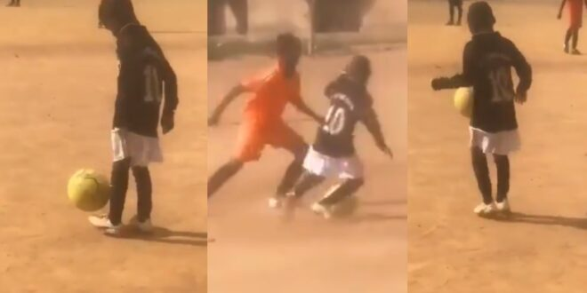 A 10-year-old Ghanaian playerreceives interest from a European club after a viral video of him demonstrating his football skills goes viral. 1