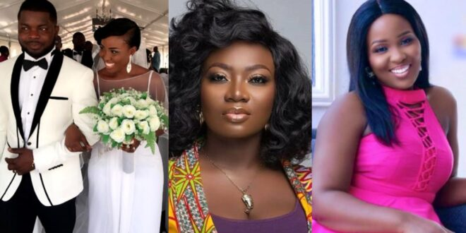 Adwoa Saah told Stacy Amoateng she has problems in her marriage even before her interview with Delay 1