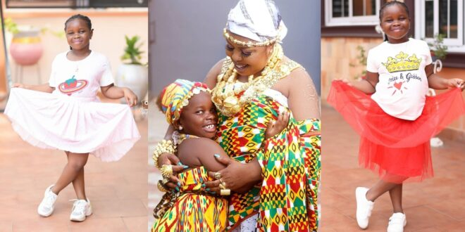 Afia Schwarzenegger 6 years old daughter brought love letter she received in school from a boy to her mum (screenshot) 1