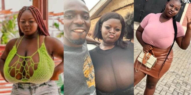 After bragging that she only dates Oldmen because of money, Hajia is seen flirting with a young man. (video) 1