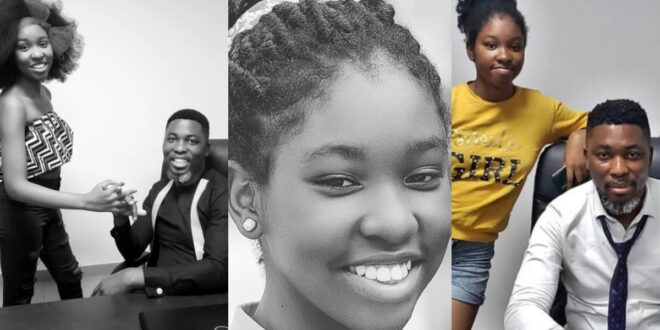 After saying he hates women who work, see pictures of Kwame A-plus 14 years old daughter who will one day be a housewife. 1