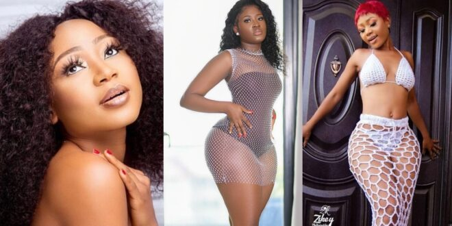 Akuapem Poloo blast Fella to stop copying her and focus on her marriage (video) 1