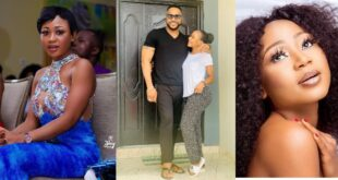 Akuapem Poloo spotted loved up with handsome Nigerian actor (photo) 64