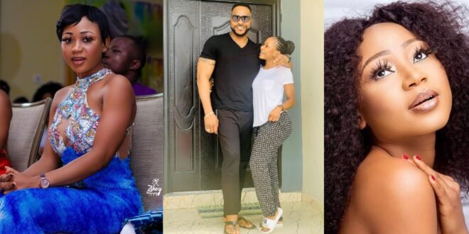 Akuapem Poloo spotted loved up with handsome Nigerian actor (photo) 1