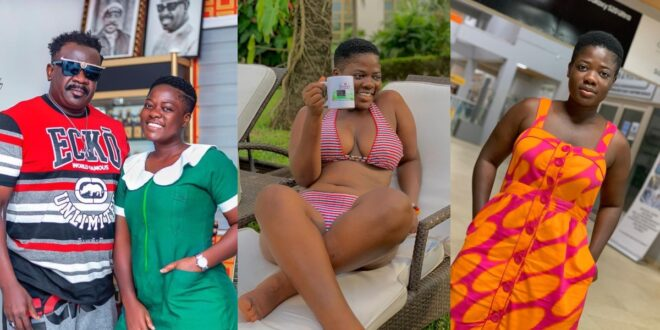 Asantewaa causes stir on social media after she released some stunning b!kini pictures of herself (photos) 1