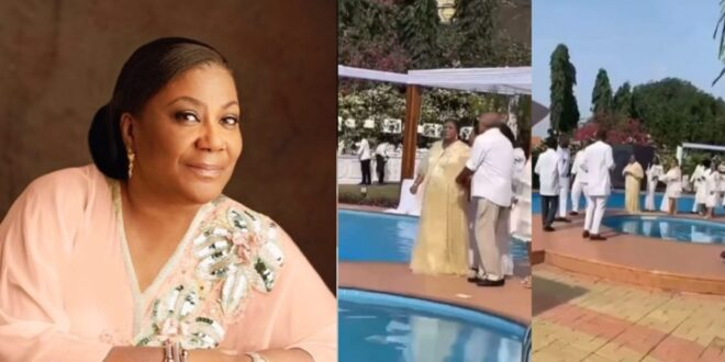 At her 70th birthday party, First Lady Rebecca Akuffo Addo gets down on the dance floor (Video) 1