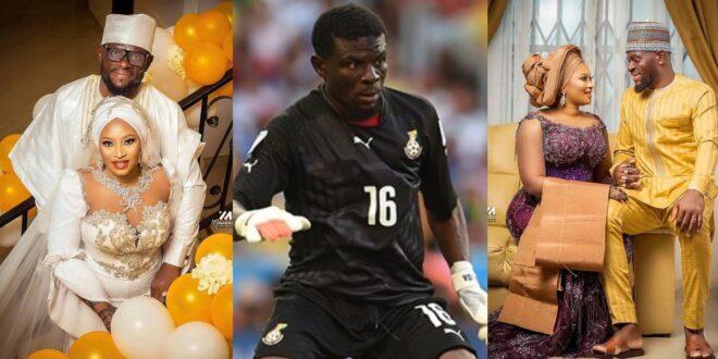 Blackstars Goalkeeper Fatawu Dauda Marries his long-time girlfriend (photos) 1