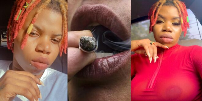 'Legalize weed for we the weed smokers and stop LGBTQ in Ghana'- Dancehall act Bossbae (video) 1