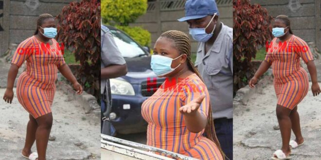 Curvy woman arrested after she was caught sleeping with a 13 years old boy (video) 1