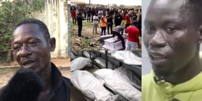 Deadman wakes up in the middle of his burial ceremony (video) 1
