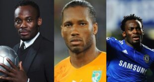 """Your friend Drogba founded a hospital in Ivory Coast,  you are supporting LGBTQ in Ghana?"" – Ghanaians to Essien 18"
