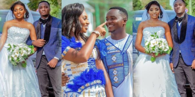 Exclusive videos from Yolo actor Fiifi's wedding (video) 1
