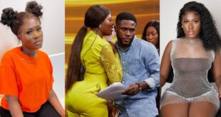 Fella Makafui accused of cheating on Medikal with her manager. 16