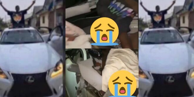 Gameboy dies the next day after taking control and buying an expensive lexus car (video) 1
