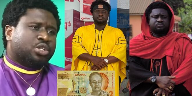 """""""God will not answer your prayers if you owe even Ghc 2""""- Ajagurajah (video) 1"""