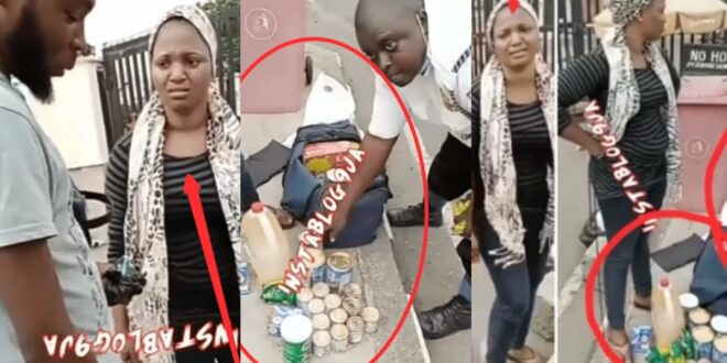 House girl begs security man not to tell madam after she was caught with this 1
