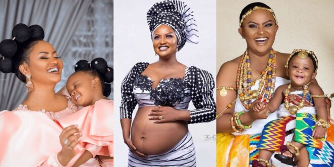 'I did not get pregnant through sex'- Nana Ama Mcbrown reveals how she gave birth to Maxin 1